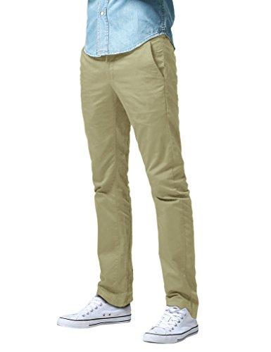 Match Herren Slim Straight Casual Hose #8036(8036 Sand,34)