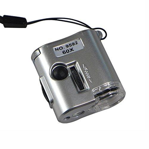 Wall Lamp-Store Tragbare 60 × Mikroskop Super High Clarity Mini Schmuck Loupe Verwendung für...