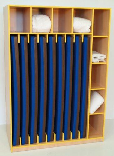 armario-happy-maggi-para-9-colchones-y-cama-juguete-azul