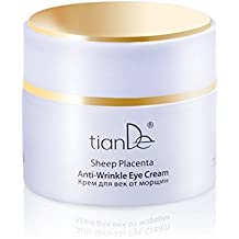 Crema Anti-Arrugas Bajo los Ojos, TianDe 10306, 50 g, Tratamiento Integral de la Piel del Párpado