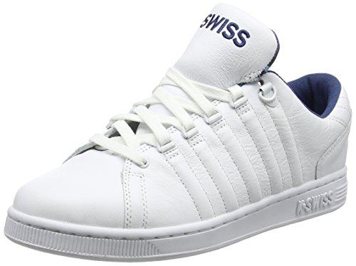K-Swiss Herren Lozan III TT Sneaker, Weiß (White/Ensign Blue/Camo), 42 EU