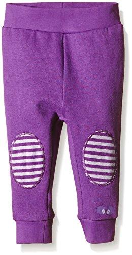 Twins Baby - Mädchen Sweathose mit Kniepatches, Gr. 74, Violett (amaranth purple 193536)