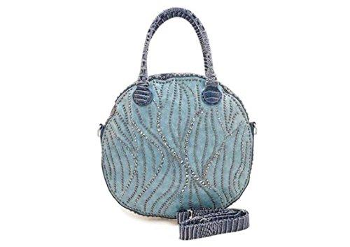 Oath_song ,  Mädchen Damen Tasche blau