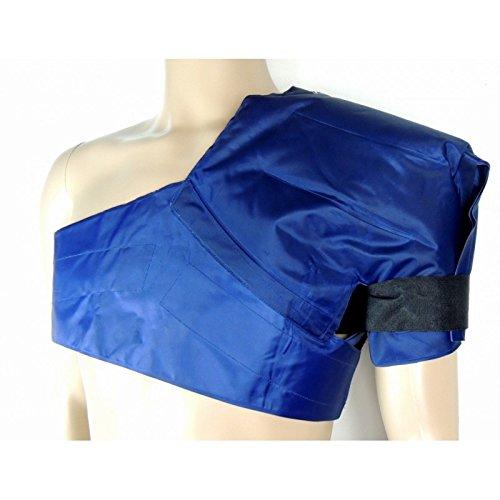 Kalt-Warm-Schulter-Wickel/-Kompresse - Hohe Gel-Menge für Höchste Wirksamkeit - Komfortable Auslaufsichere (Xxl Ski Kostüme)