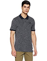 Jack & Jones Men's Printed Slim Fit Polo