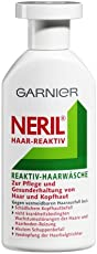 Garnier Neril Reaktiv-Haarwäsche, Shampoo zur Pflege und Gesunderhaltung von Haar und Kopfhaut, gegen vermeidbaren Haarausfall, 200 ml