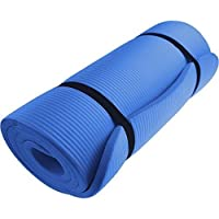 VLFit EXERCISE MAT NBR 15mm Thickness YOGA FITNESS WORKOUT PILATES CAMPING with carry strap - Choice of Colours- 15mm THICKNESS