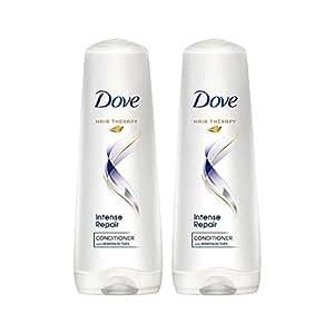 Dove Intense Repair Conditioner, 190ml (170ml+11%, Pack of 2)