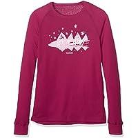 Odlo 150519–Camiseta de Manga Larga para niña, 150519, Rojo, 162