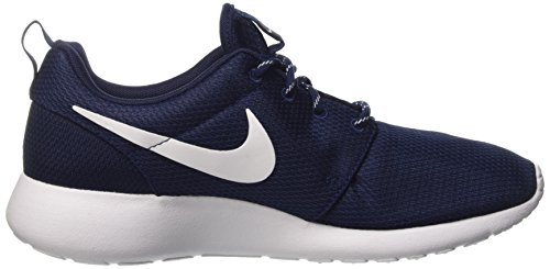 Nike Wmns Roshe One, Gymnastique Femme Azul (Midnight Navy / White)