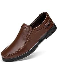 WOJIAO Zapatillas de Conducción para Hombres en Los Zapatos Mocasines Cómodos y Respirables en…