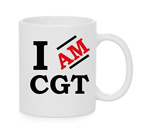 I Am CGT Tasse officielle