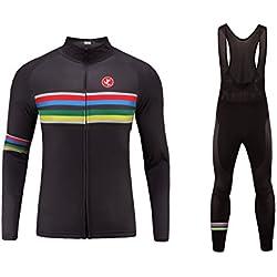 Uglyfrog 2019 Sports de plein air Hommes Printemps / Été Respirant Maillot À Manches Courtes Triathlon Vêtements Vélo Maillots MESD23