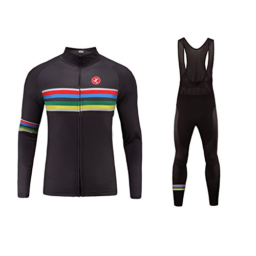 Uglyfrog Bike Wear De Invierno Manga Larga Maillot