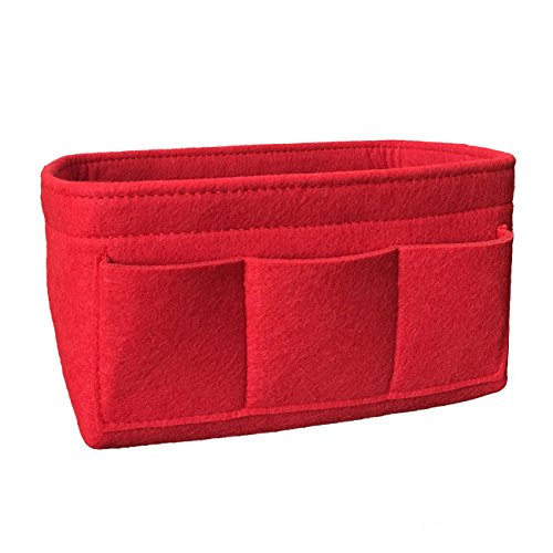 vancore Felt Handbag Organiser Insert for Women, Purse Organiser Bag in Bag (Velcro Womens Wallet)