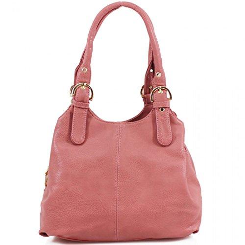 donna Borsa spalla Elegant Borsa Elegant Pink a xEagXqFw1