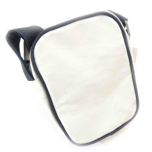 Bolso de hombro 'Redskins' blanco.