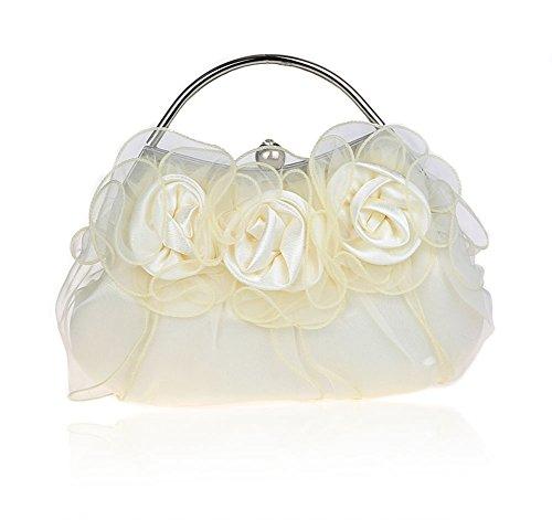Blumen Frau Handtasche/Exquisite Handtaschen/Brautpaket/Fashion Bankett-Paket/Hochwertige Abendtaschen/Brautjunferkleid Paket-C C