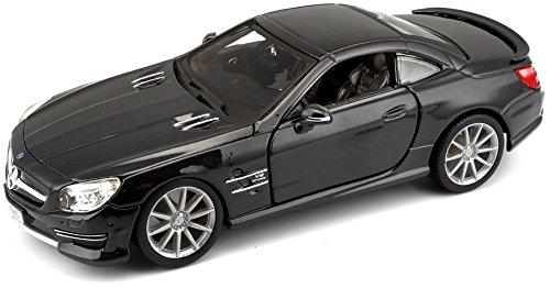 Bburago - Mercedes-Benz SL 65 AMG, Coche de escala 1:24, surtido (18-21066)