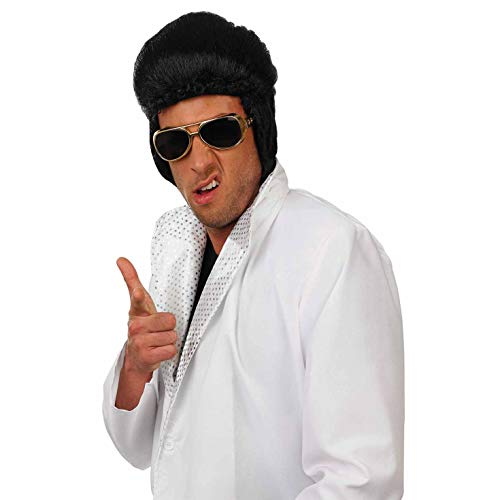 Fun Shack Herren Costume Kostüm, Pop King Wig, - Hair Musical Kostüm