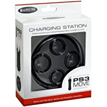 Competition Pro PS3 Move - Base de carga para 4 mandos de PS3