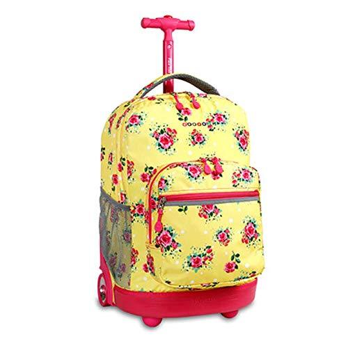 e762dbbb73 HCC& Trolley Schultaschen Multifunktion Wasserdicht Fahrbar Rollen Gepäck  Rucksack Zum Jungen Mädchen Jugendliche Empfohlenes Alter: