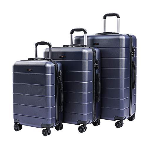 CarryOne Trolley Bagaglio a Mano Valigia Rigida e Leggera con Rotelle Girevoli, 55cm, 39 liters