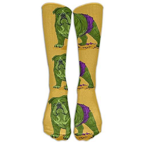 hat pillow Hulk Bully Pug Athletic Socks Knee High Socks For Men Women  Sport Long Sock Tube 33136fca703