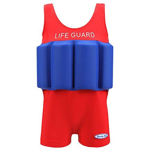 ZED- Einteiliger Badeanzug Baby Boy Girl Kid Schwimm Auftrieb Badebekleidung Schwimmanzug Schwimmen Kostüm Einstellbare Schwimmanzug