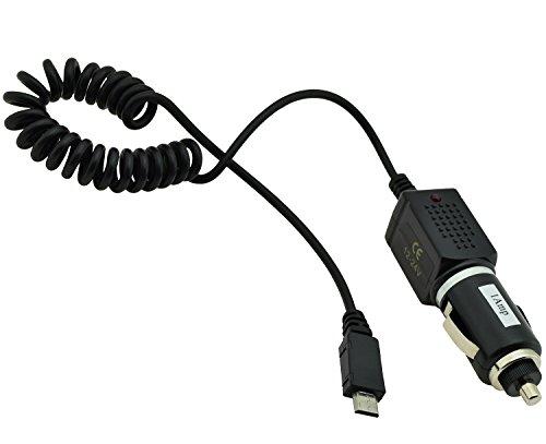 Kfz - Ladekabel für / ZTE Blade L6 / Kfz - Ladekabel Ladegerät Lader PKW/LKW Kabel 12-24V (Trendcell Electronic)