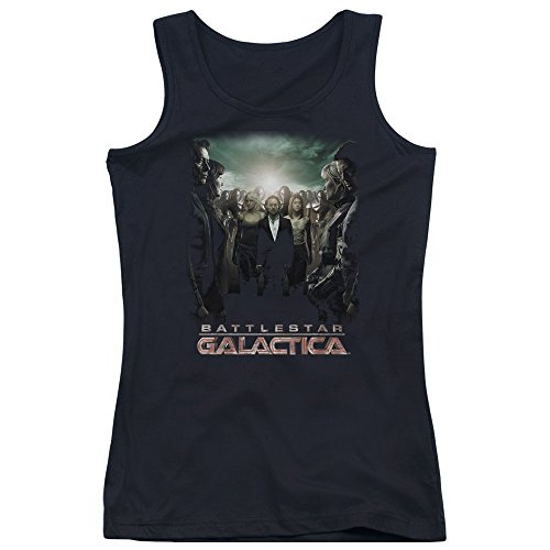 Battlestar Galactica Débardeur Crossroads pour jeunes femmes Black