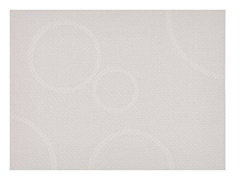 KJ Collection 352103 Tischset warm grau mit Kreisen (1 Stück) -
