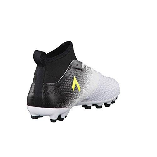 adidas Herren Ace 17.3 Ag Fußballschuhe Weiß (Footwear White/Solar Yellow/Core Black)