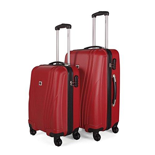 Juego de maletas Itaca - Rojo