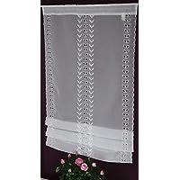 und Türbehang Türgardine Tür Panneaux Vorhang Scheibengardine 60//100cm Fenster