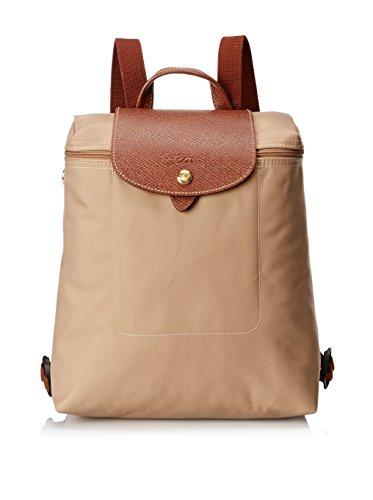 Longchamp Damen Rucksackhandtasche Beige Beige