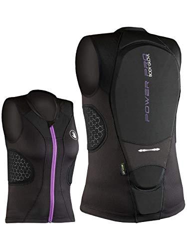 Damen Protektor Top Body Glove Power Pro Rückenprotektor