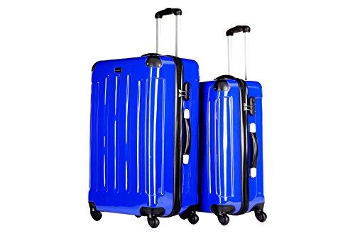 Packenger Koffer 2er-Set, L/XL, Blau