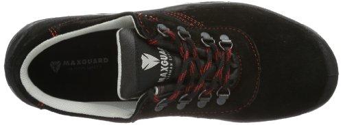 Maxguard  AARON, Chaussures de sécurité mixte adulte Noir - Noir
