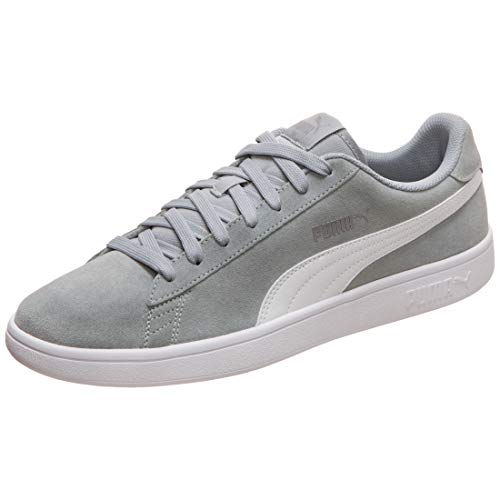 bb13ee852f Puma Smash V2, Zapatillas Unisex Adulto, (High Rise Silver White 30), 8.5 EU