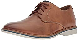 Clarks Mens Atticus Lace Tan Leather 8 D US
