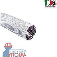 Mistermoby Tubo Alluminio Bianco Estensibile Fino a 3 Metri per