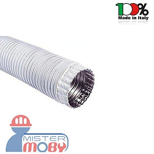 Mistermoby Tubo Alluminio Bianco Estensibile Fino a