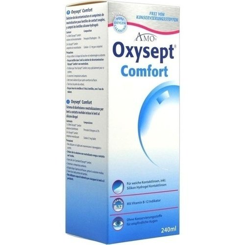 Oxysept Comfort Vitamin B12 Kombipackung, 1 St