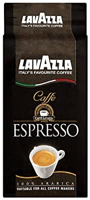 Lavazza Caffe Espresso Ground Coffee 250 g (Pack of 6) by Lavazza