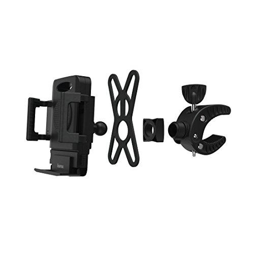 Hama Uni-Smart-Fahrradhalter Handy Halteschale Fahrrad Breite (max.): 90mm (Fahrrad Vertical)