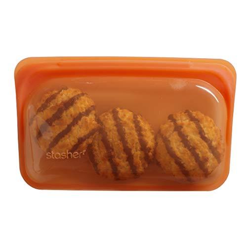 Stasher - Bolsa de silicona reutilizable para alimentos