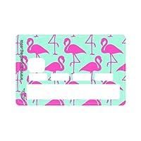 Sticker CB Pattern Pink Flamingos