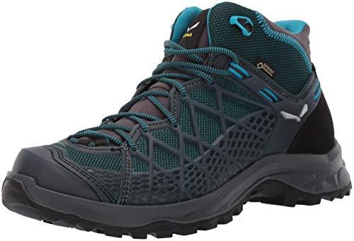 SALEWA WS Wild Hiker Mid GTX, Scarpe da Arrampicata Alta Donna, Blu (French Blue/Black 340), 39 EU