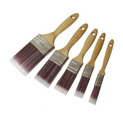 Silverline 282408 Malerpinsel mit synthetischen Borsten, 5-teilig Satz von Silverline bei TapetenShop